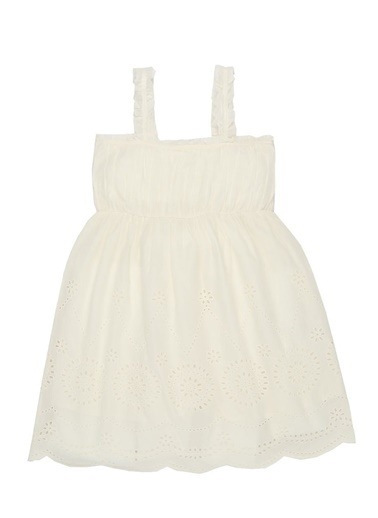 Stella Mccartney Elbise Beyaz